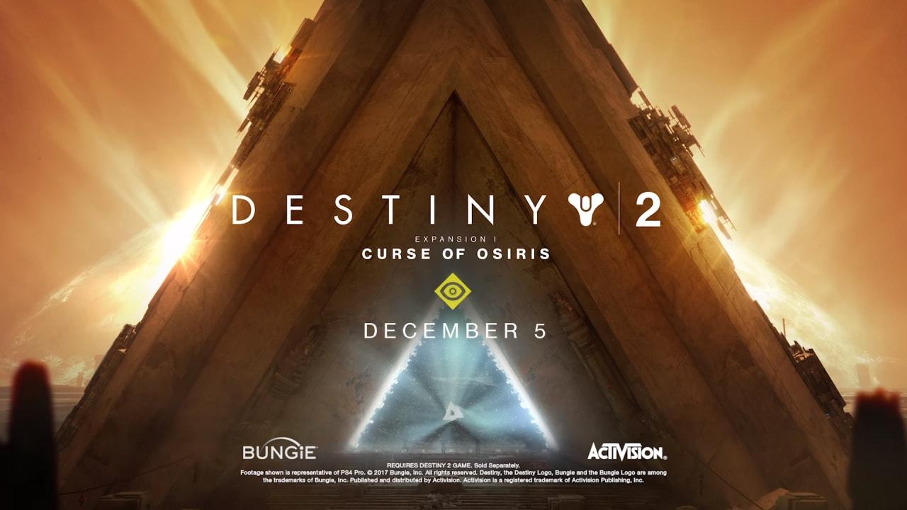 L'end game di Destiny 2 langue? Tranquilli, dal 5 dicembre arriva La Maledizione di Osiride!
