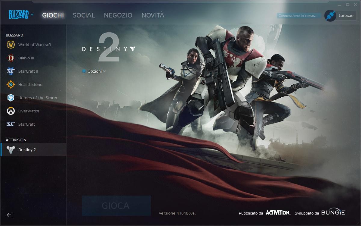 Dalle 19:00 di stasera va online Destiny 2 su PC!