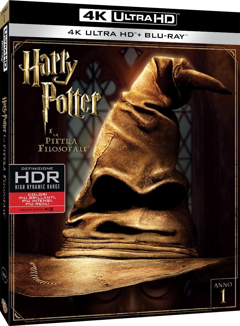 Tutti i film di Harry Potter in Blu-ray 4K, anche in unico cofanetto, a partire da novembre (foto)