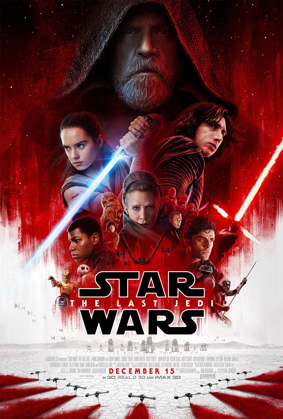 Locandina Star Wars Gli Ultimi Jedi