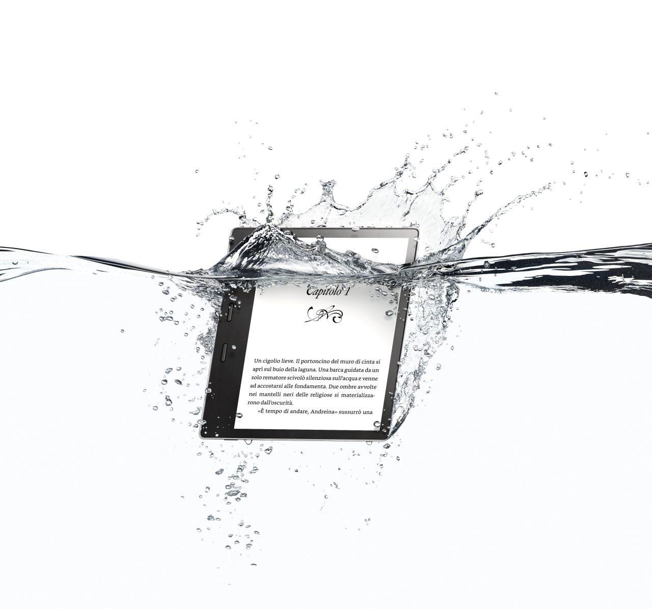 Amazon annuncia il nuovo Kindle Oasis: più grande, più economico e impermeabile (foto)