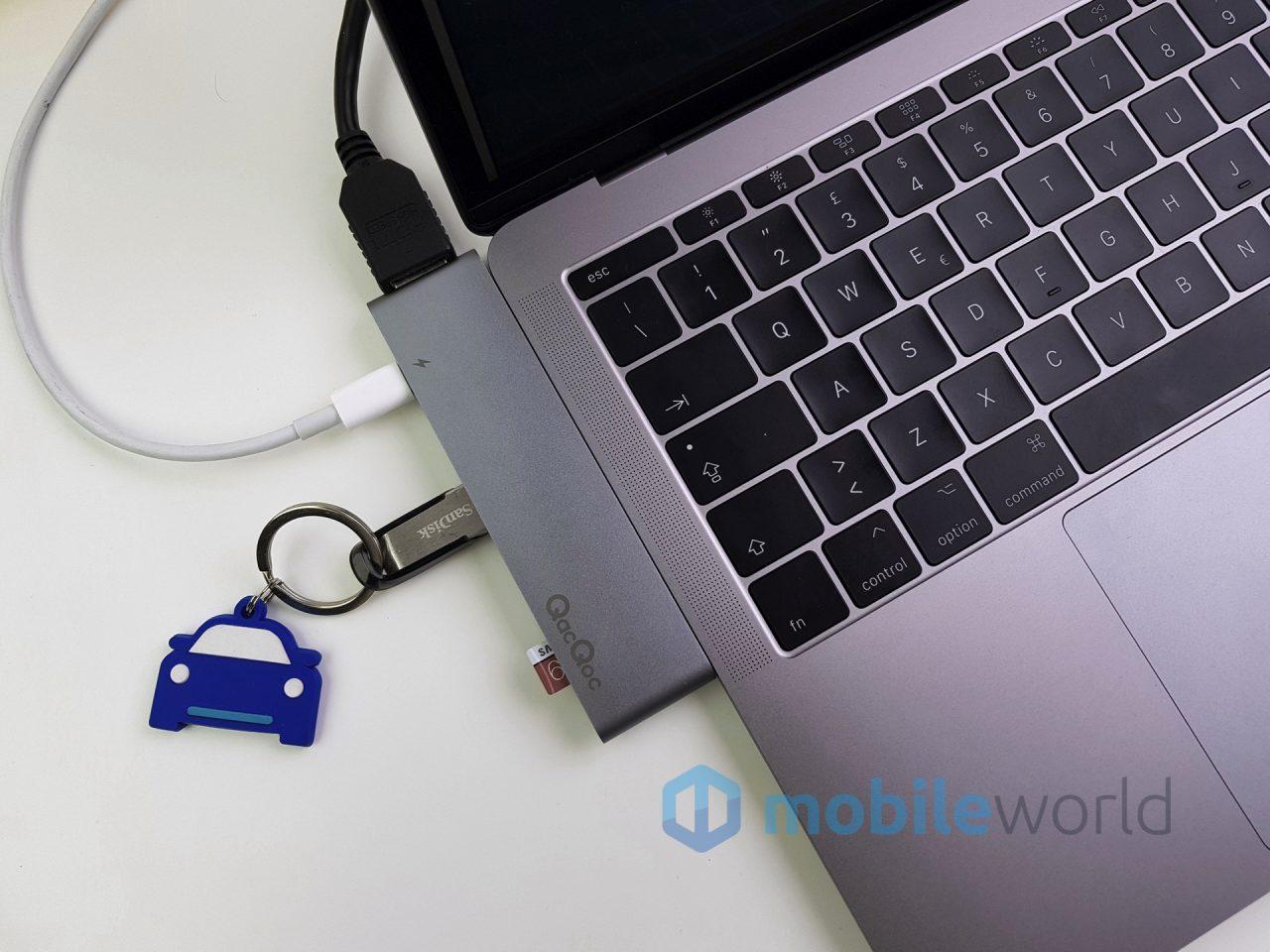 Dongle USB-C QacQoc GN28K, la nostra prova (foto)