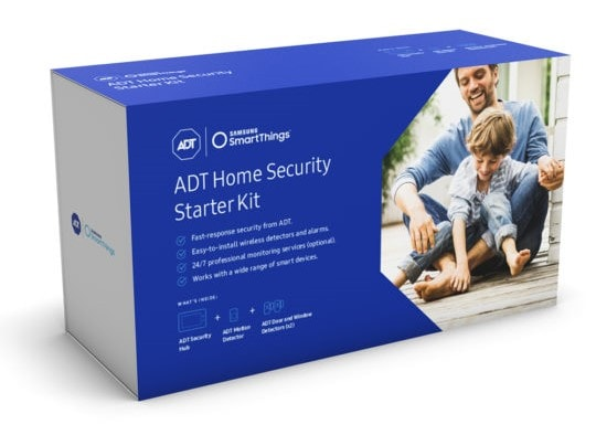 01 ADT Home Security Starter Kit – Product Packaging