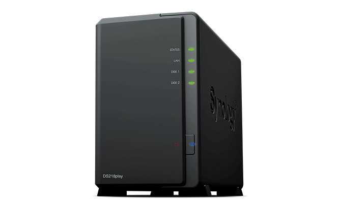 Synology lancia DS218play: NAS per lo streaming video domestico in 4K (foto)
