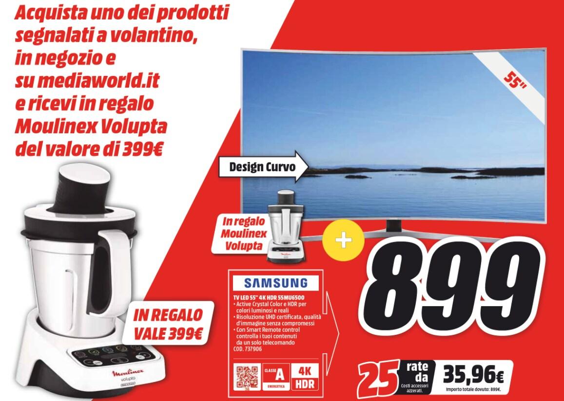 Volantino Mediaworld Ti Fa Un Regalo 5 15 Ottobre 2017 Robot Da Cucina In Omaggio Con Tv Elettrodomestici Anche Smartphone Console E Notebook Smartworld