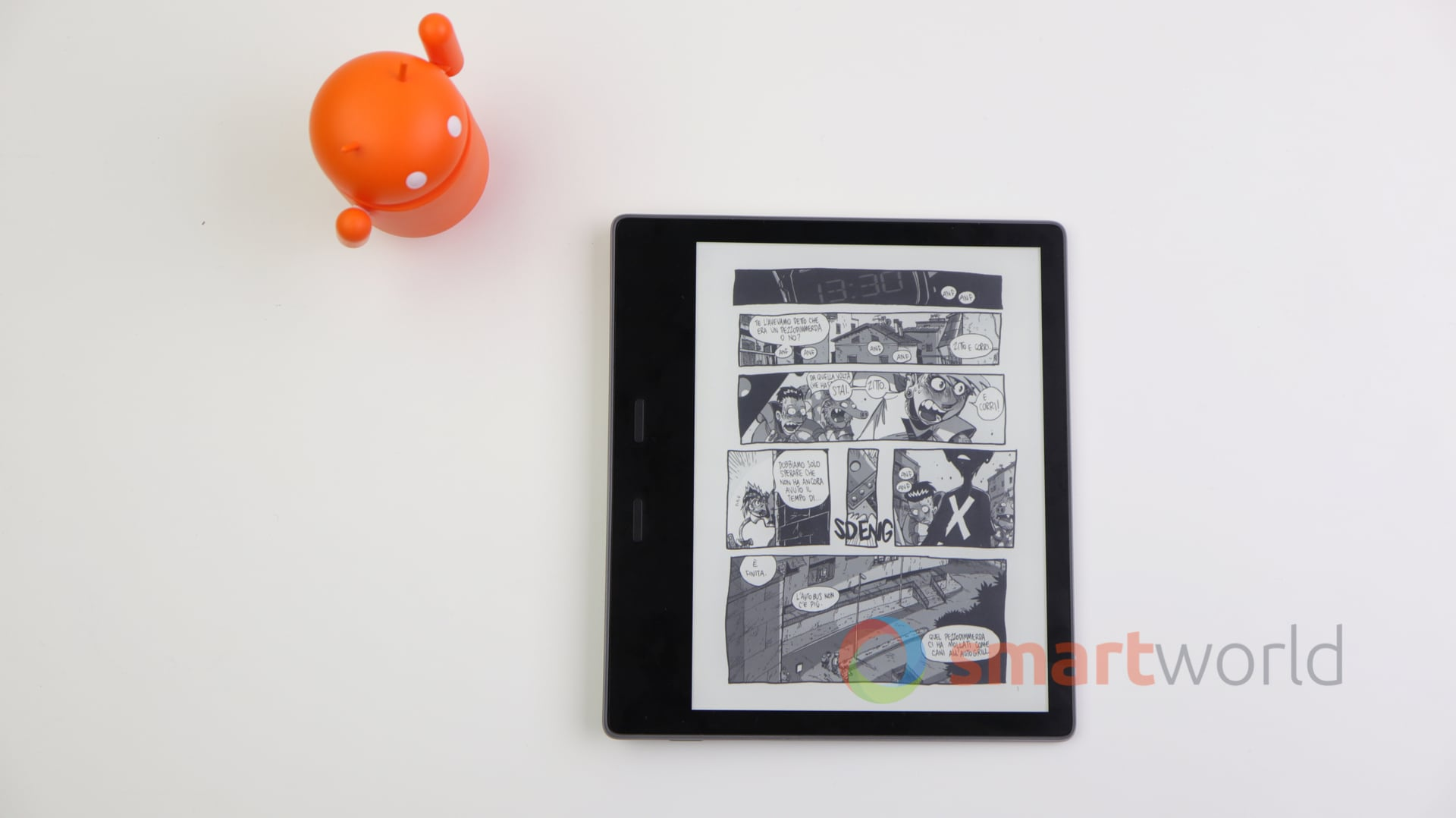 Recensione Kindle Oasis 2017 – 9