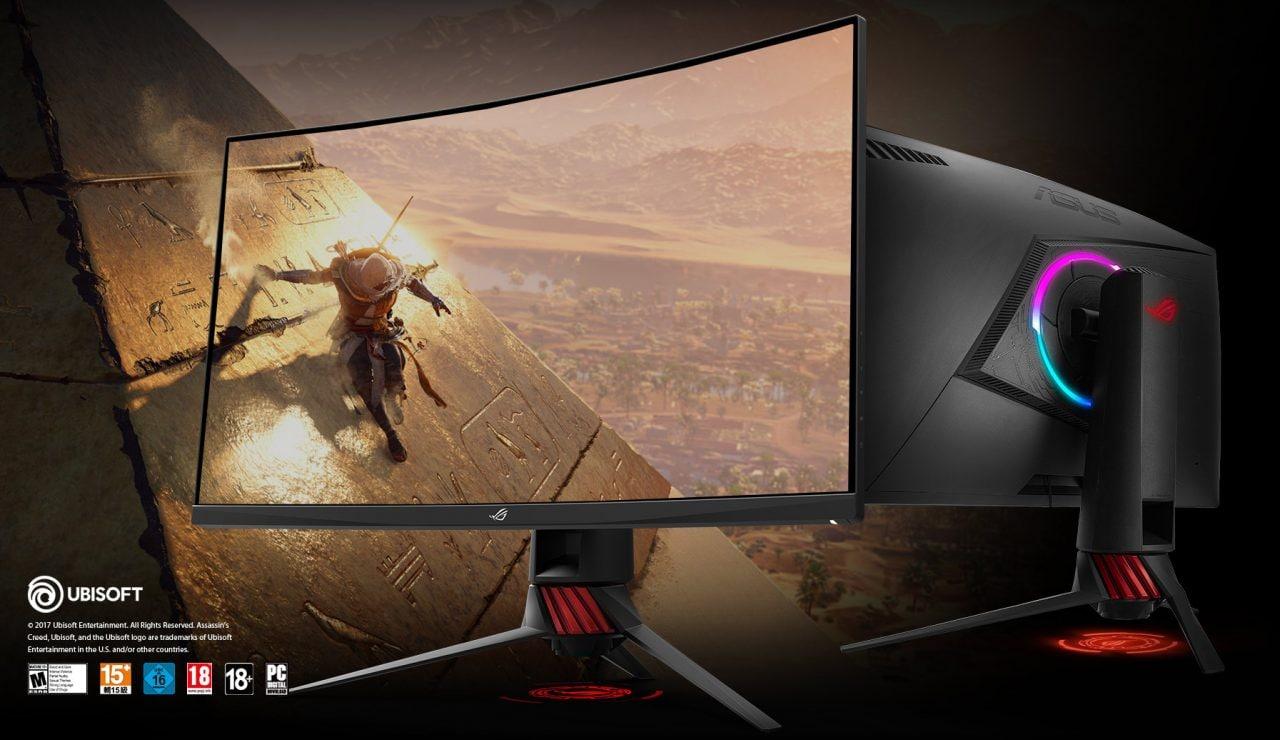 ASUS annuncia ROG Strix XG32VQe ROG Strix XG35VQ, due nuovi monitor curvi da gaming (foto)