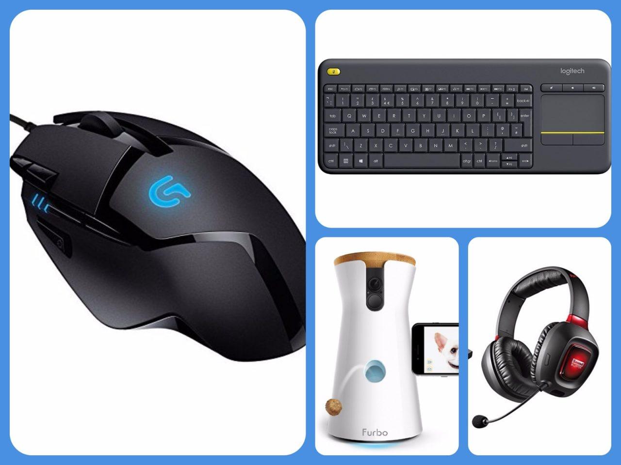 Cyber Monday Amazon gadget e periferiche: mouse, anche da gaming, tastiera Logitech da divano e tanto altro