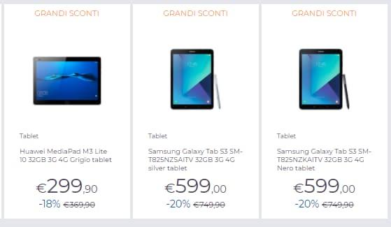 grandi sconti unieuro novembre 2017_tablet (1)