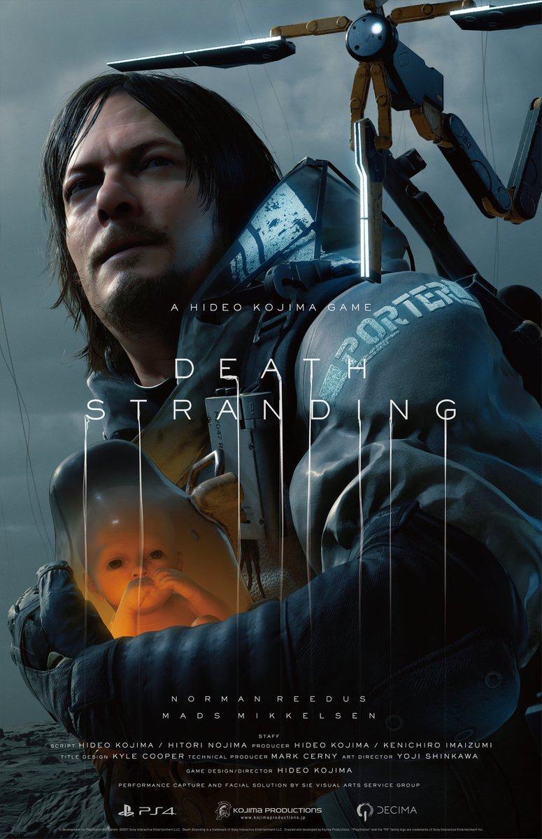 Death Stranding The Game Awards 2017 – Poster