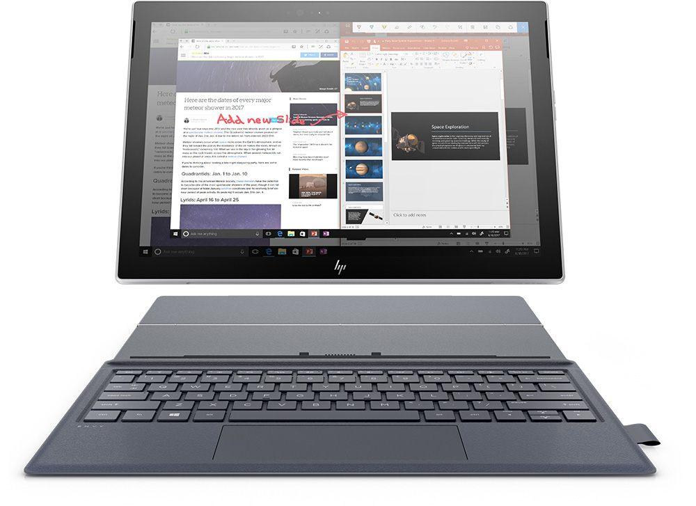 HP ENVY x2 è il convertibile Windows 10 S connesso H24, grazie a Snapdragon 835 (foto e video e anteprima)