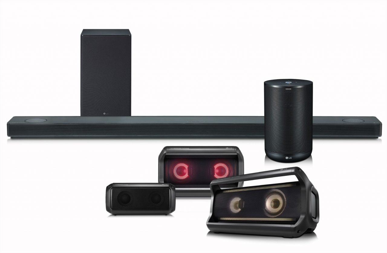 Audio di alta qualità e Google Assistant: gli speaker di LG in arrivo nel 2018