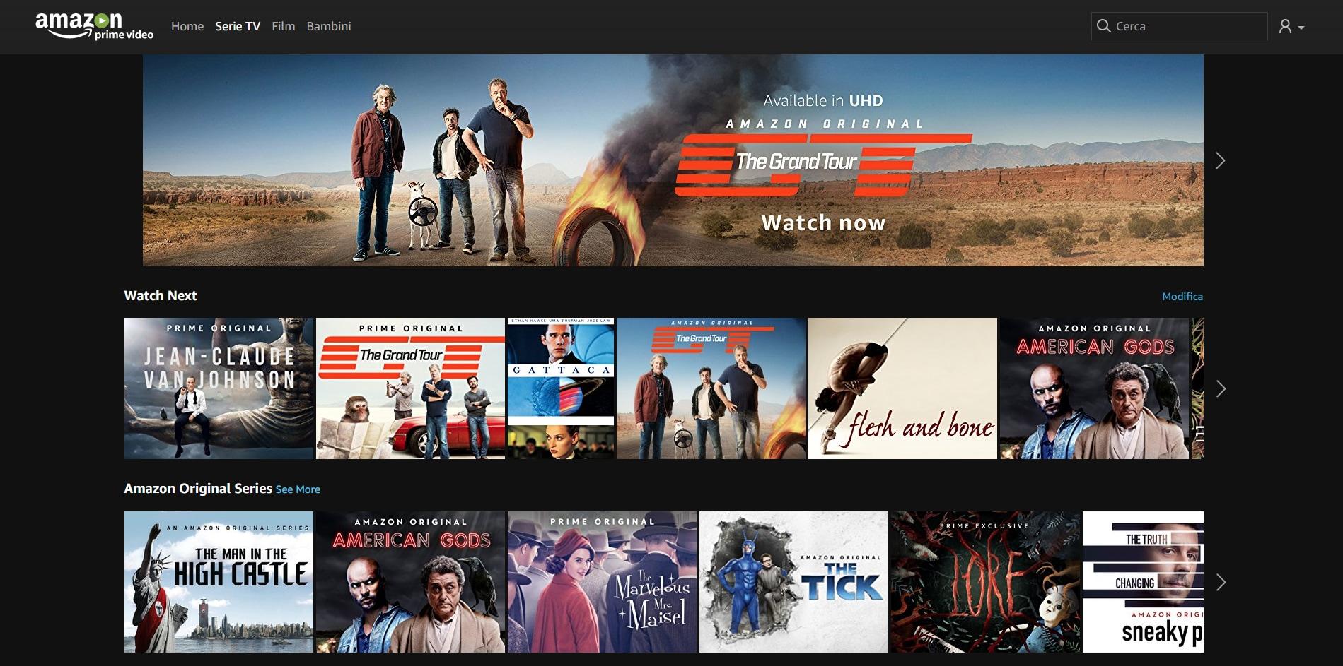 Amazon Prime 4k Filme