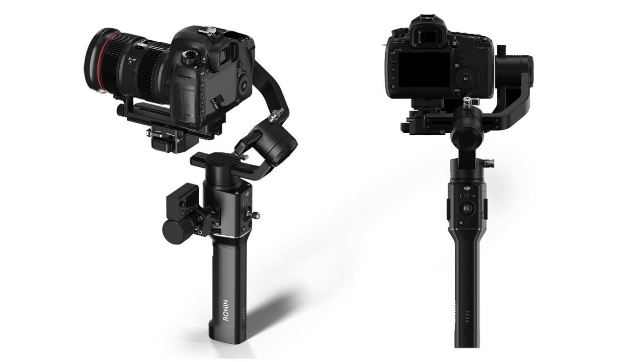 Ronin-S di DJI è un gimbal per fotocamere reflex e mirrorless impugnabile con una sola mano (foto)