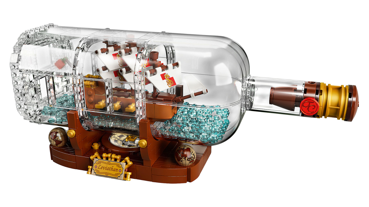 La nave in bottiglia LEGO Ideas è disponibile all'acquisto!