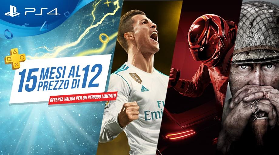 15 mesi di PlayStation Plus al prezzo di 12: una nuova offerta PlayStation valida fino al 24 gennaio!