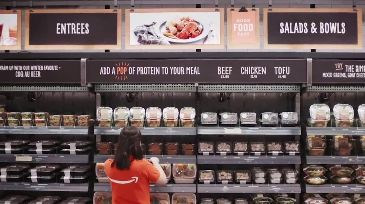 Amazon Go apre oggi:  come funziona il futuristico supermercato senza casse e senza commessi (video)