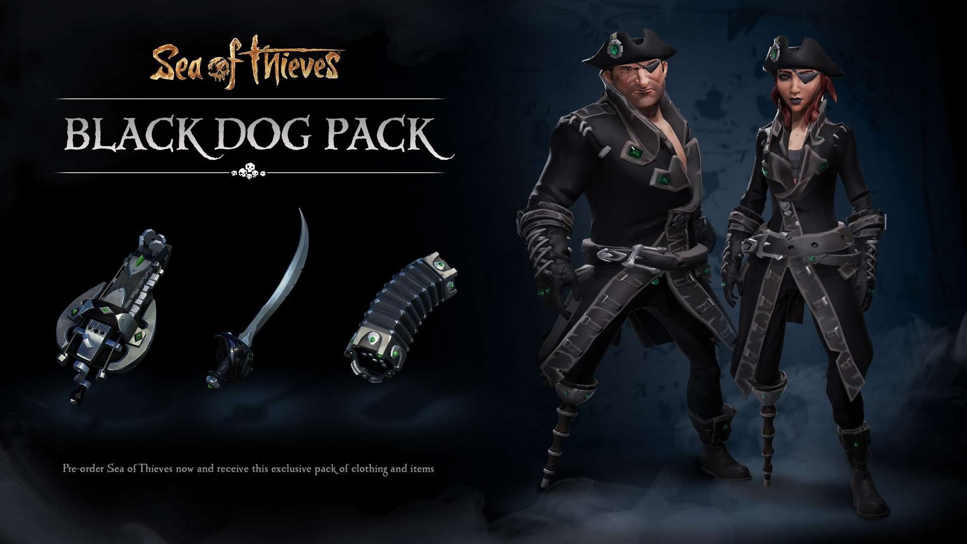 Sea of Thieves – Black Dog Pack