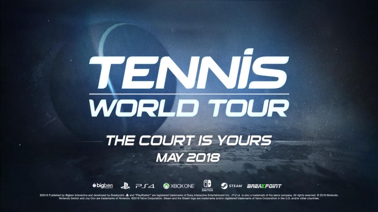 Tennis World Tour: qual è l'elemento più importante in un gioco di tennis?