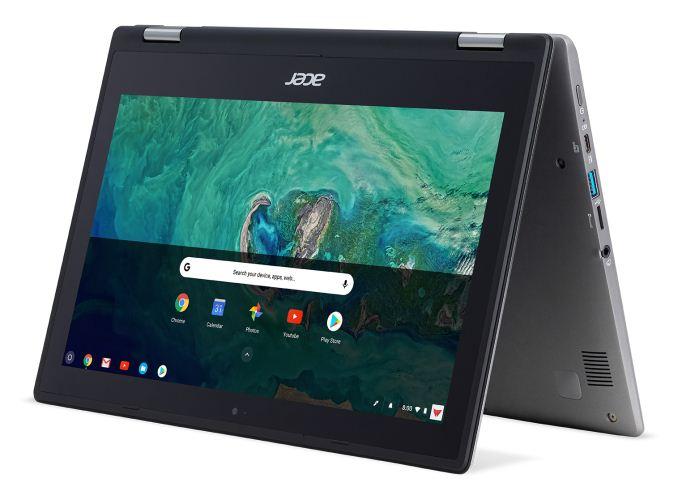 Acer svela 3 nuovi dispositivi Chrome OS: un notebook per le scuole, un convertibile e un Chromebox (foto)