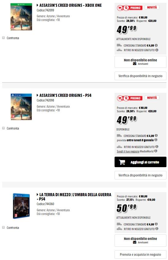 mediaworld criminal price gennaio 2018_gaming (1)