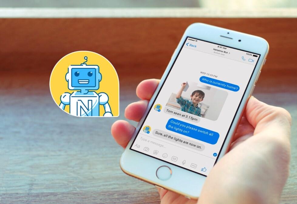 Netatmo smart home bot la casa si controlla messaggiando for Valvole termostatiche netatmo