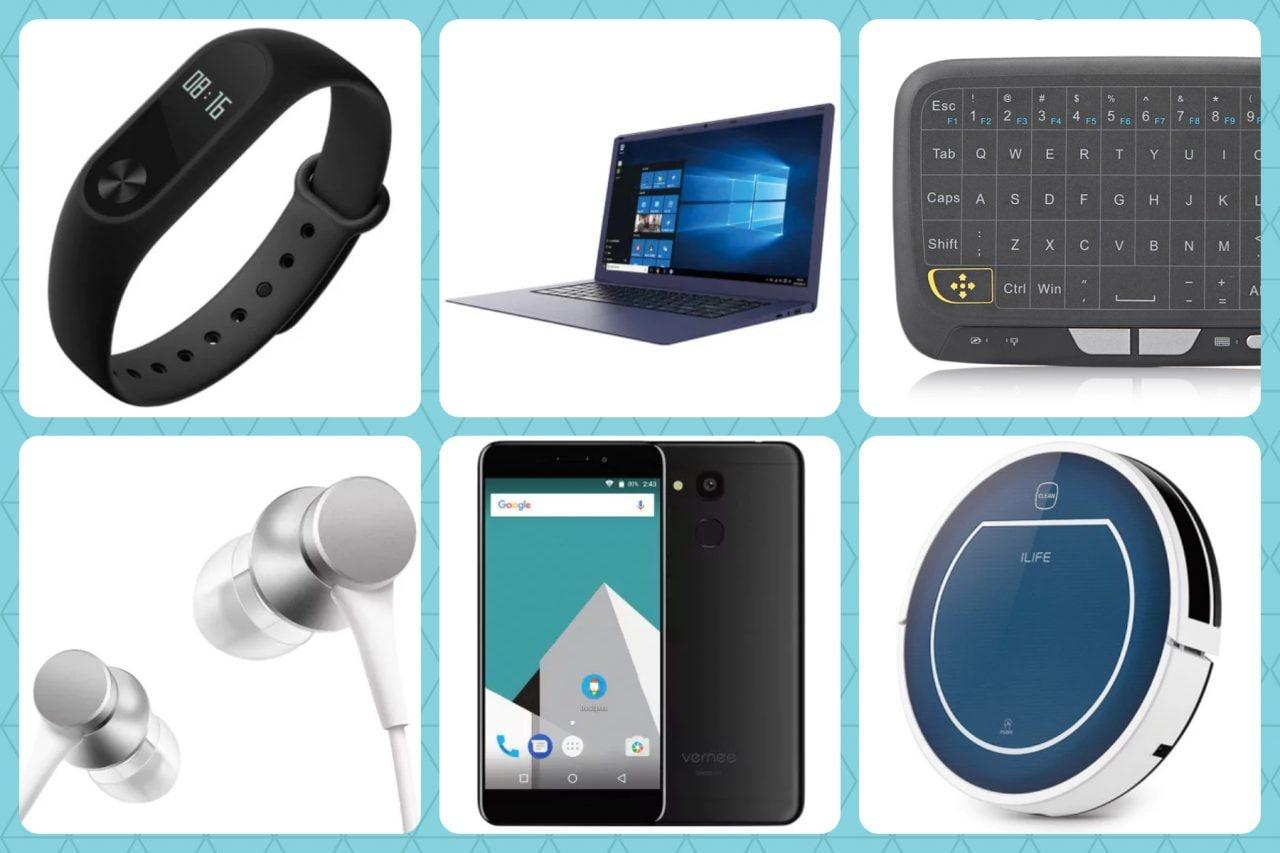 Weekend su GearBest: Xiaomi Mi Band 2, smartwatch e smartphone economici, box TV, cuffie e non solo
