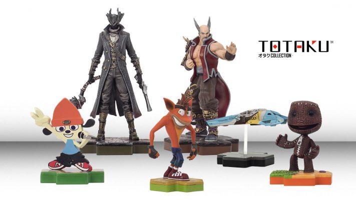 Sony lancia anche in Italia i suoi Totaku: statuine collezionabili dei personaggi PlayStation più celebri (foto)