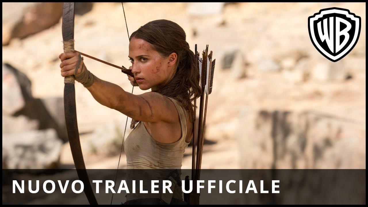 Lara Croft sta per tornare al cinema: il 15 marzo esce Tomb Raider, ma per ora gustatevi il nuovo trailer