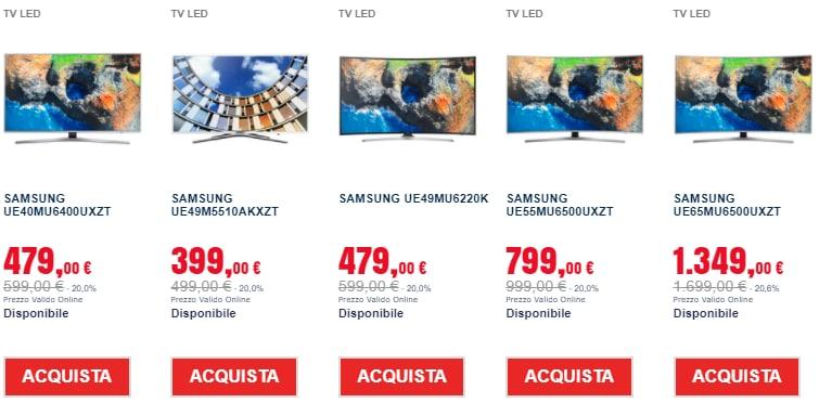 trony prezzi shock gennaio 2018 tv (1)