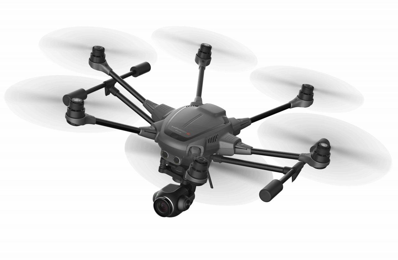 Yuneec Typhoon H Plus è il drone con video 4K 60 FPS e Intel RealSense che tutti vorremmo, prima di saperne il prezzo (foto)