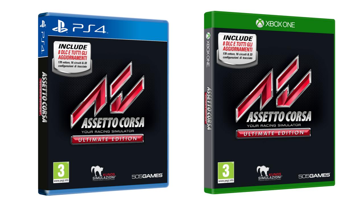 Annunciato Assetto Corsa Ultimate Edition... e Assetto Corsa 2? (video)