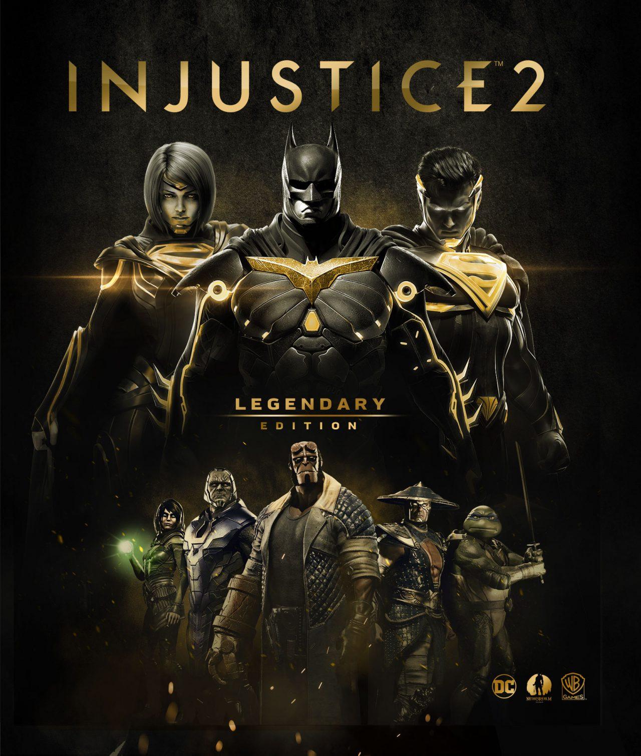 Injustice 2 - Legendary Edition disponibile dal 27 marzo per PS4, Xbox One e PC (video)