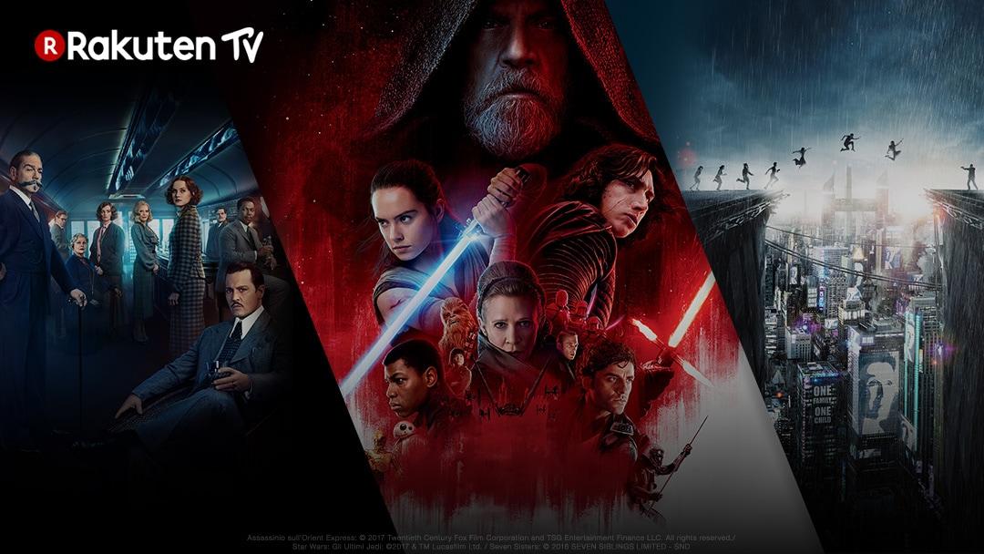 RAKUTEN TV: tutte le novità in arrivo a marzo