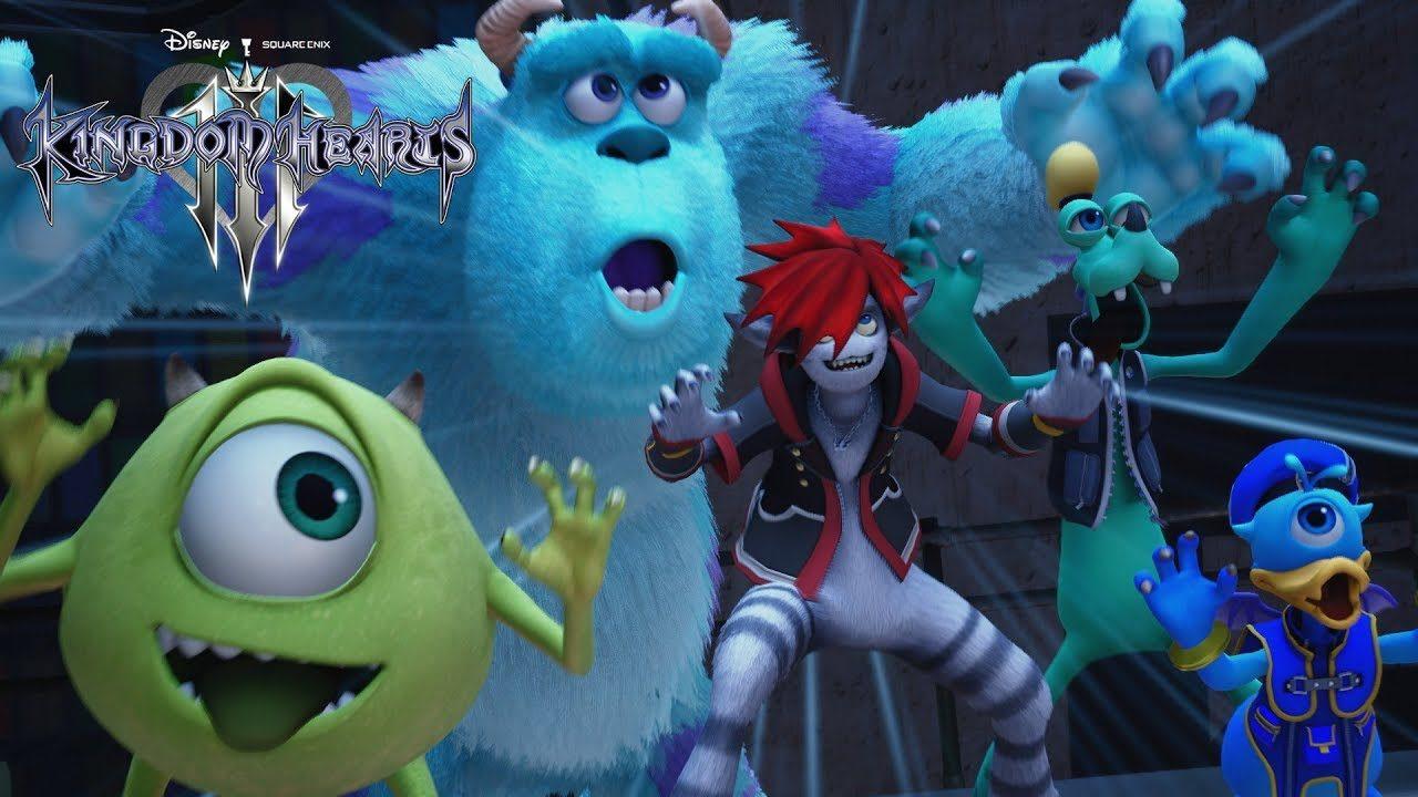 Kingdom Hearts III: ecco Monsters & Co. e il tema di Utada Hikaru