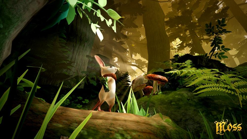 Moss per PSVR: la sua magia in un filmato di gameplay (video)