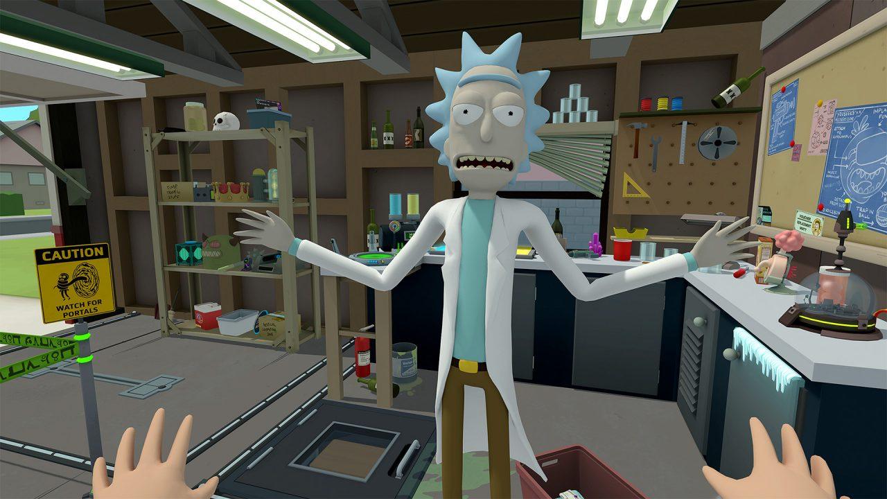 Rick e Morty: Virtual Rick-ality: annunciata la data per PSVR, Morty!