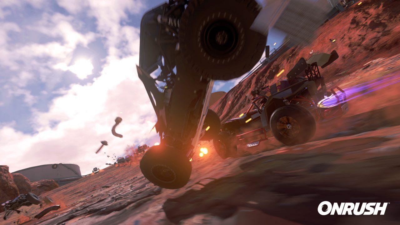Adrenalina a mille nel nuovo trailer di Onrush (foto e video)