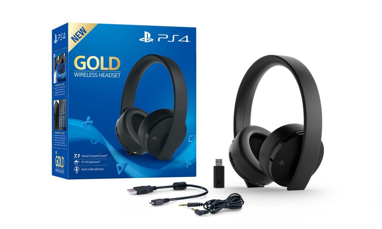 Le nuove cuffie Gold Wireless per PlayStation sono belle e anche ...