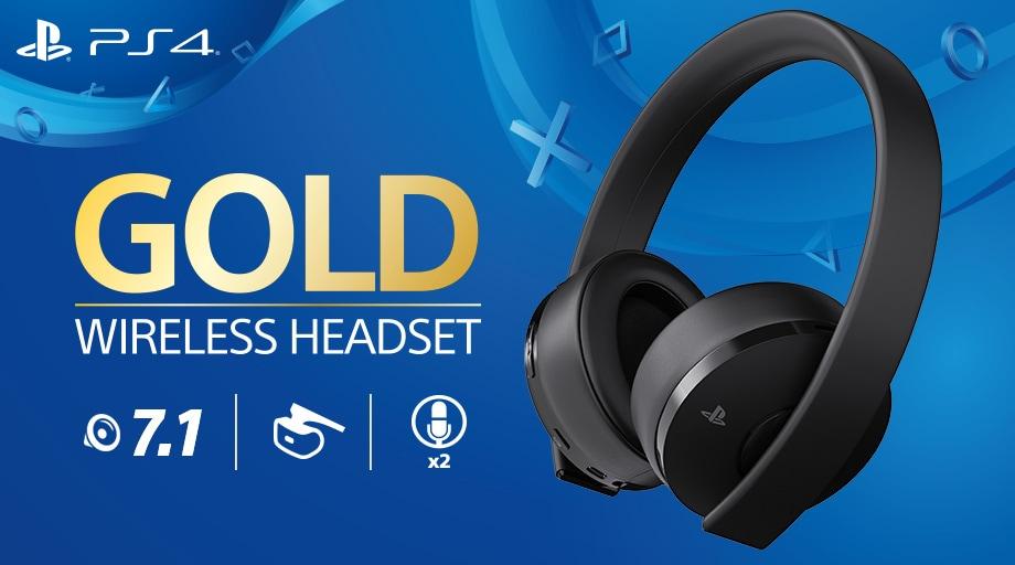 Le nuove cuffie Gold Wireless per PlayStation sono belle e anche molto smart (foto)