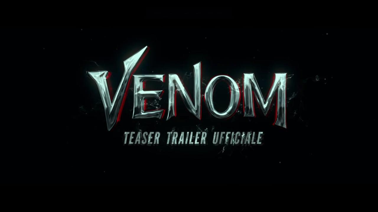 Venom al cinema da ottobre, e questo è il primo teaser trailer!