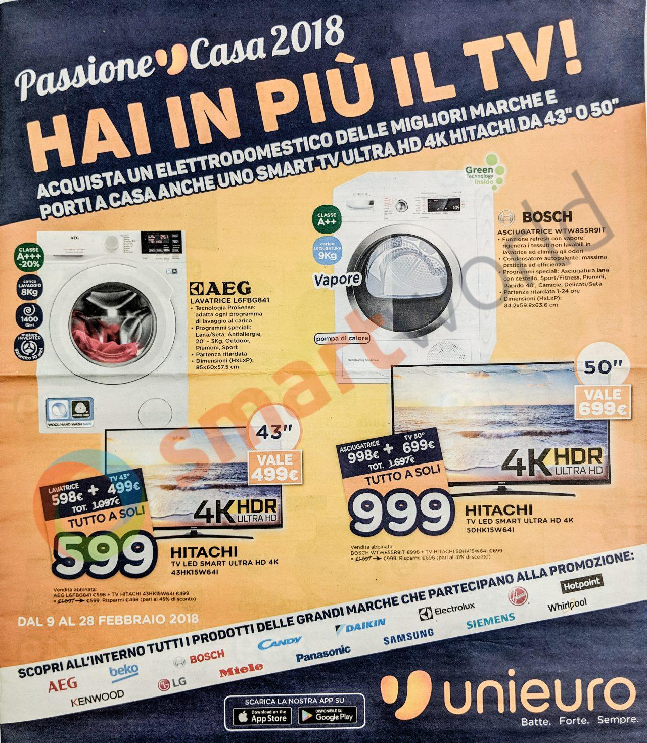Volantino Unieuro 9 28 Febbraio Tv In Regalo Smartphone Nuovi E Tanta Altra Tecnologia Smartworld