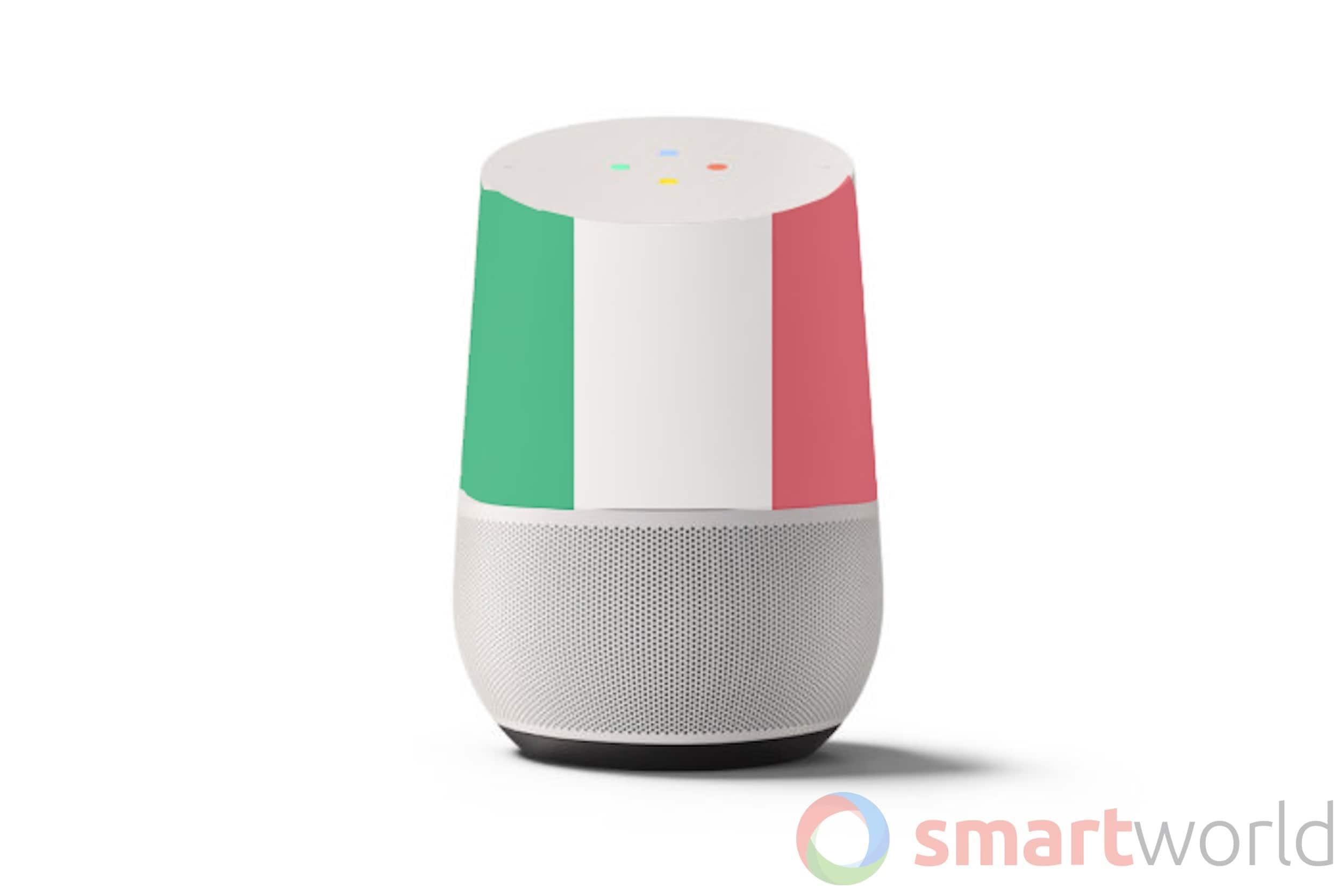google home arriva in italia gratis il mini alle guide. Black Bedroom Furniture Sets. Home Design Ideas
