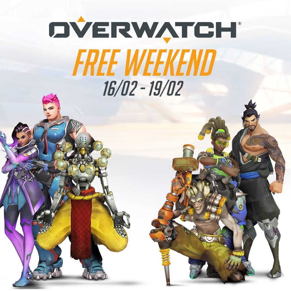 Nuovo weekend gratuito per Overwatch su PC, Xbox One e PS4