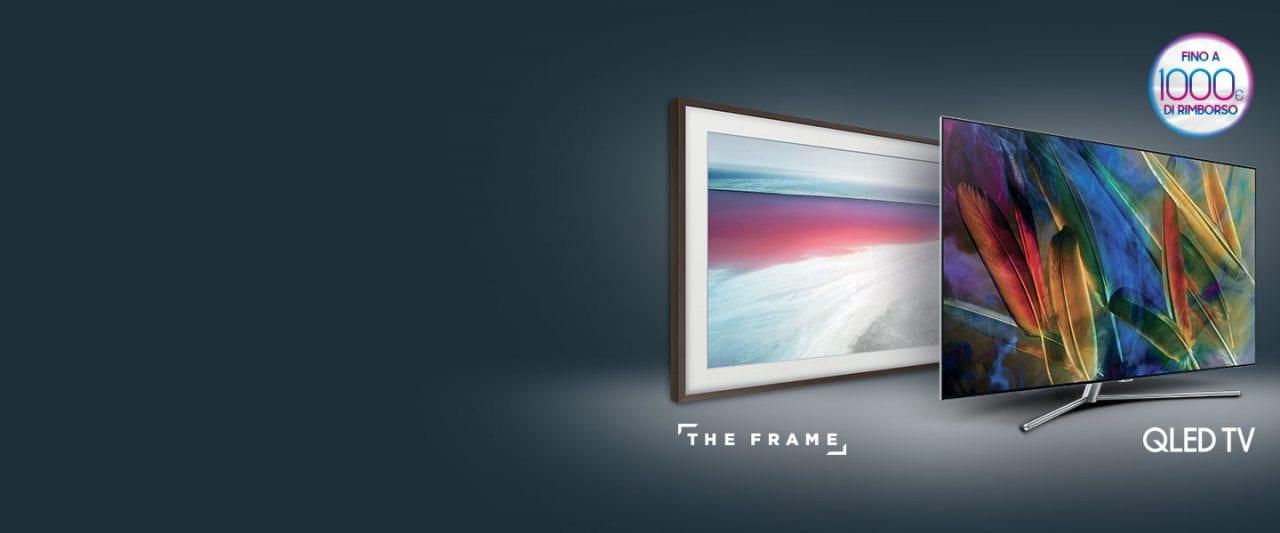 Fino a 1.000€ di rimborso sul vostro prossimo TV Samsung? Sì, ma solo fino al 25 febbraio!