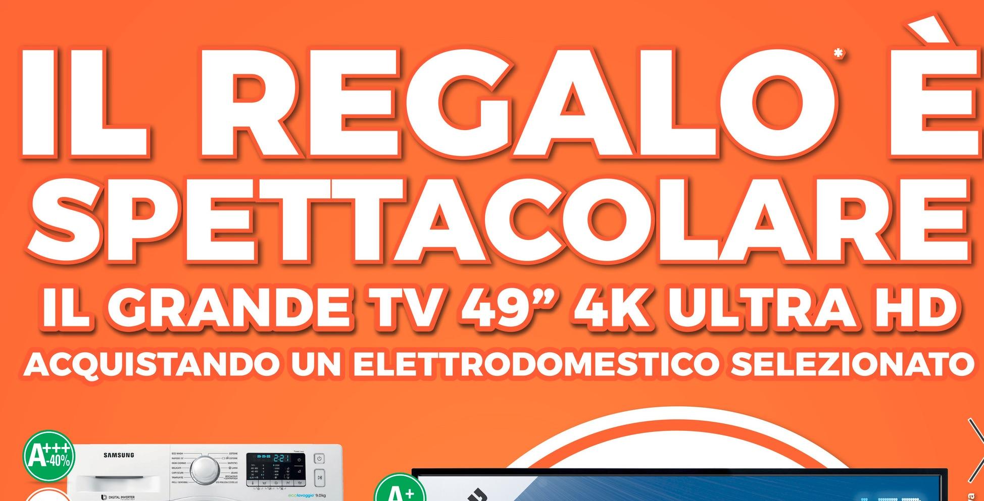 Volantino expert 1 18 marzo tv 4k hdr in regalo con certi for Regalo elettrodomestici milano