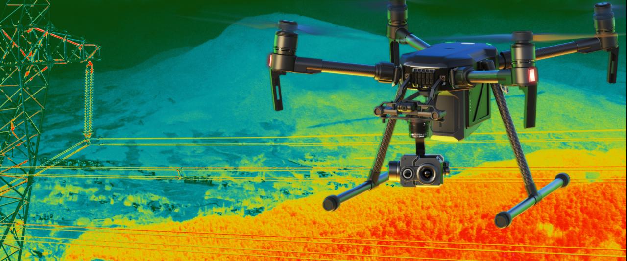 """DJI: una nuova cam termica e """"moduli infiniti"""" per il futuro dei droni enterprise (foto)"""