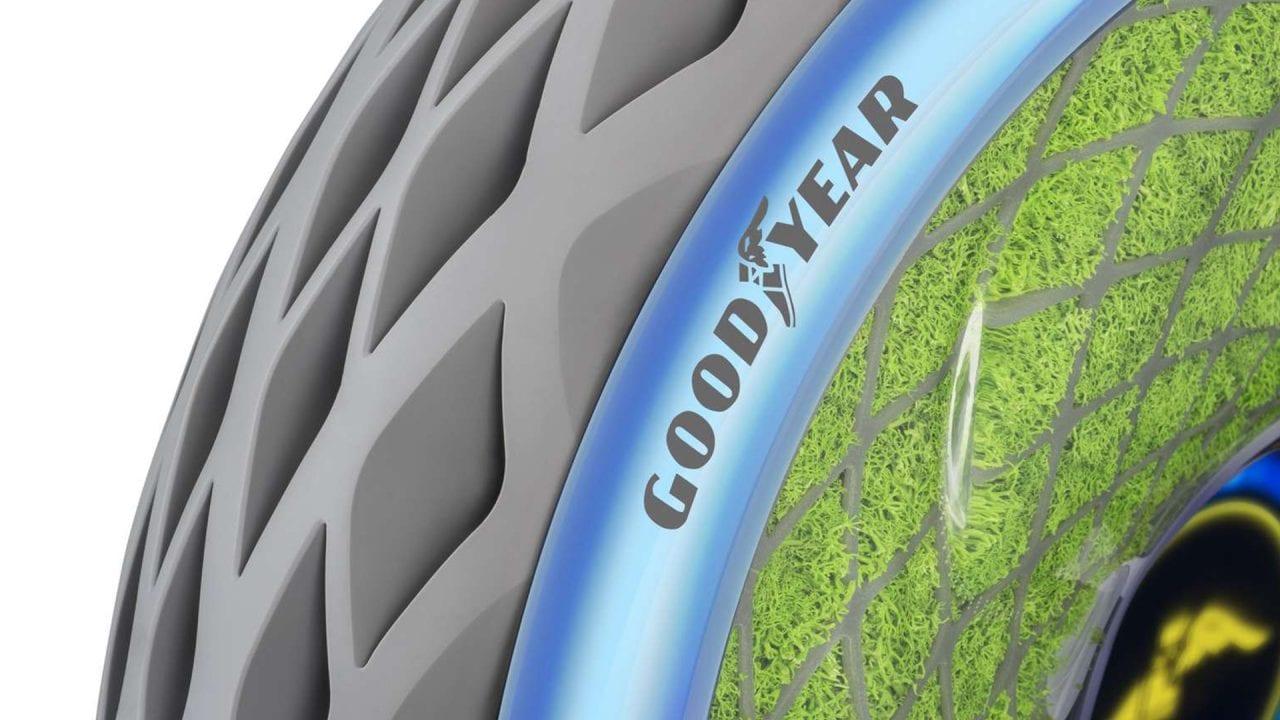 Goodyear Oxygene: il concept dello pneumatico... che respira! (foto e video)