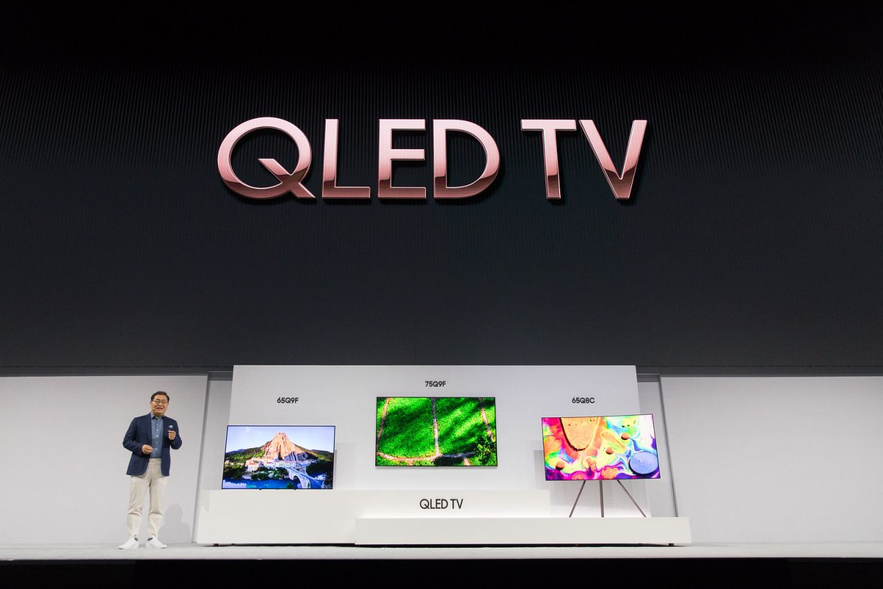 Schema Elettrico Tv Samsung : Samsung lancia i nuovi tv qled per il 2018: schermi piatti e curvi