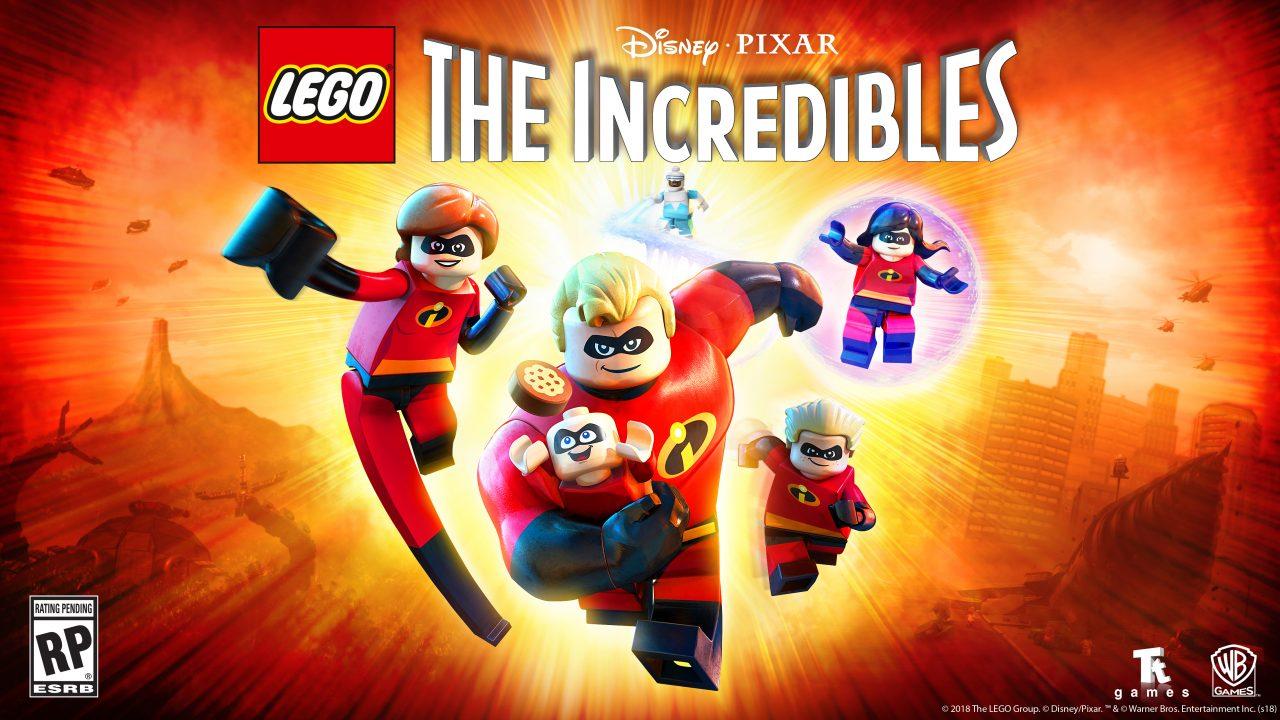 LEGO Gli Incredibili si mostra nel nuovo trailer: quanti pazzi nemici in città! (video)